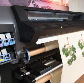 Fabric Printing in Lawson workshop