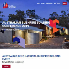 bushfire Building conference